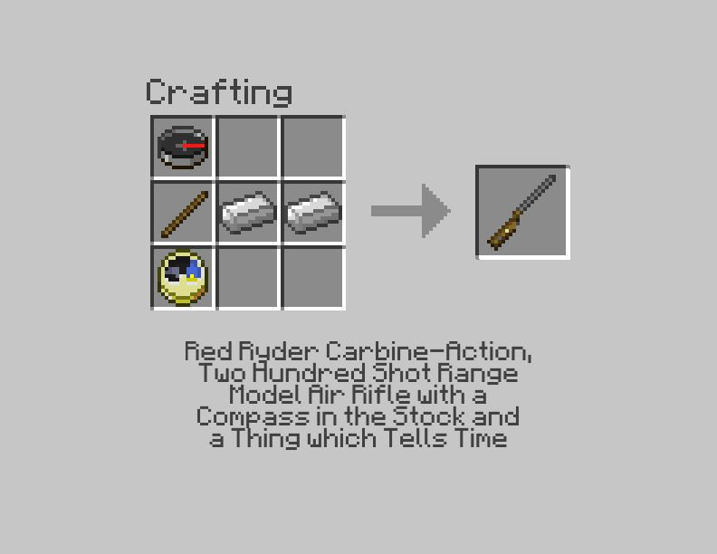 how to create a compass in minecraft