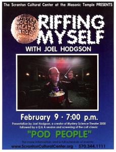 Joel Hodgson, Riffing Myself1
