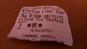 RiffTrax Live: Starship Troopers