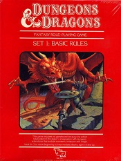 Dungeons and Dragons Redbox
