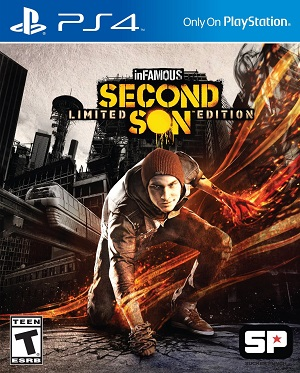 Boxart, Infamous Second Son